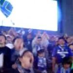 Ultras Gamba Osaka, come quelli dell'Atalanta, cantano Conquista la vittoria