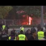 Tensione a Francia vs Spagna di Euro 2012