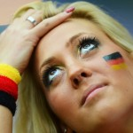 italia vs germania sexy tifosa triste