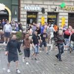 ultras croati vs la polizia polacca