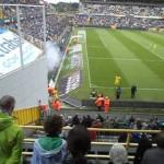 Altro video scontri ultras BVB vs Club Brugge