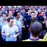 Scontro di cori tra inglesi e svedesi ad euro 2012
