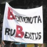 striscione rubentus