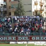striscione ultras turris gabbo vive 11-11-2012