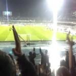 Coro curva nord Pescara contro Roma