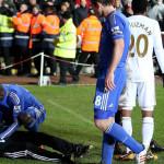 Eden Hazard raccattapalle
