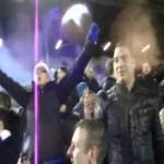 Coro da stadio per il Chelsea a Leeds 19 Dicembre 2012