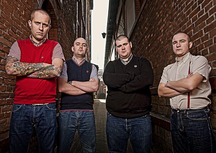 booze and glory skinhead band 187 football a 45 giri