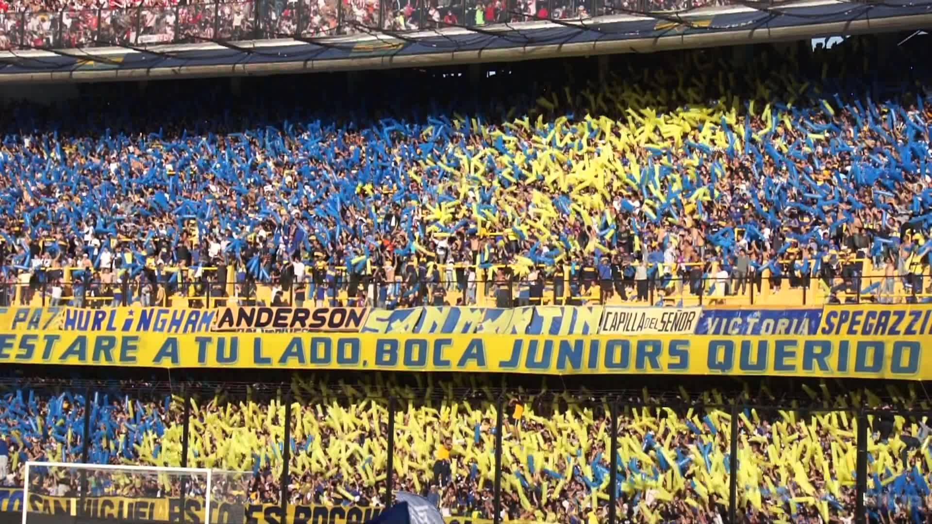 Canzone de La 12 del Boca Juniors, River decime que se