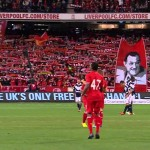 95mila tifosi a cantare You'll never walk alone in Australia