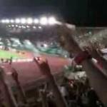 Coro ultras Curva Nord su Totti in Livorno vs Roma