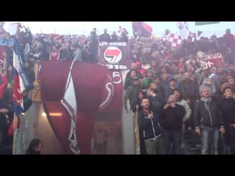 Coro ultras Curva Nord Voglion vedere finire il Livorno