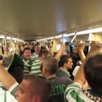 Cori per i Celtic in giro a Milano, 18/09/2013