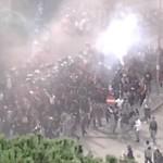 Salernitana vs Nocerina, gli ultras in corteo