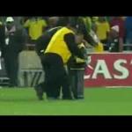 Invasione di campo di un bambino, Sud Africa vs Brasile 2014