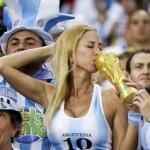 sexy tifosa argentina