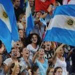 tifosi argentina brasile 2014