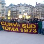 ultras roma curva sud corteo
