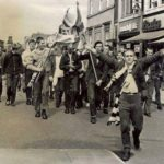 Bolton Wanderers: skinheads in corteo