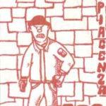 Piacenza: adesivo Brigata Farnese con skinhead