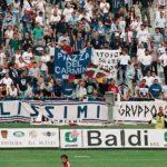 "Sampdoria: Stendardo ""Trojan Skins"" a Pistoia 1999/00"