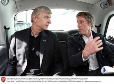 Roger Daltrey (the Who) - Arsenal