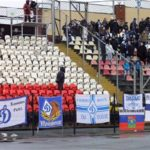 """Dinamo Kiev: Stendardo """"anti - SHARP"""""""