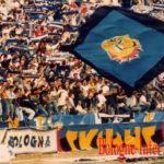 Inter: Striscione Skins a Bologna nel 1989