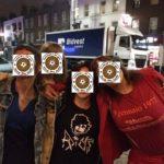 Roma: skingirl con maglia celebrativa del Commando Ultrà