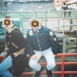 Sampdoria: skinhead in balaustra
