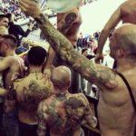 Bologna: skinhead con tatuaggio BFC tra gli Unici 89 della Fortitudo
