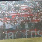 Genoa: striscione Skinheads allo stadio san vito di Cosenza 1988/89