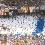Sampdoria: striscione MODS in Gradinata Sud