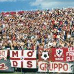 Arezzo: Striscione MODS a Macerata 1996