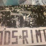 Rimini: striscione MODS in Curva Est