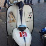 Lambretta: adesivi Italia '90 e Gazza Gascoigne