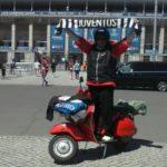 Juventus: vespista bianconero