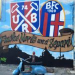 Bologna: Vespa Ultras Rosso Blu